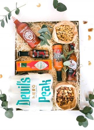 Snack & Gift Hampers: Boys-Night-In (Non Alcoholic Beer)